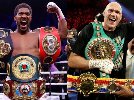 Multiple Offers On The Table As Tyson Fury And Anthony Joshua Billed To Fight