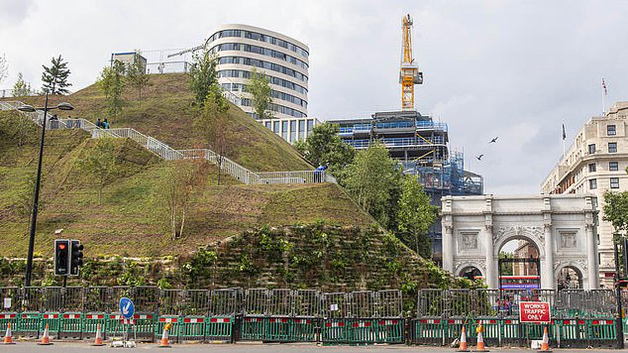 Marble Arch Mound is made FREE for visitors as council chiefs drop £8 entrance charge for £2million project which critics say has 'brought shame on Westminster across the world'