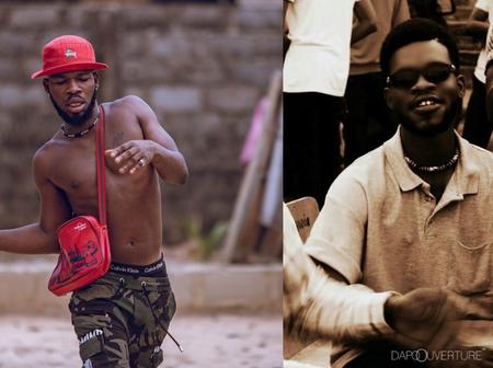 Checkout 20 Funny Throwback Photos Of Comedian Broda Shaggi