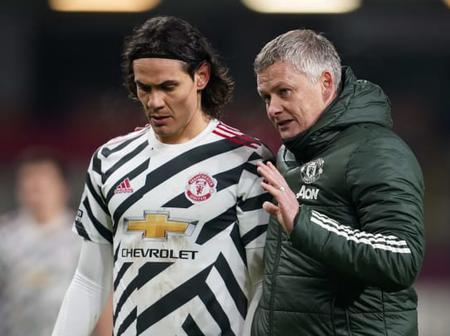 Cavani Met With Manchester United Chiefs To Resolve His Future