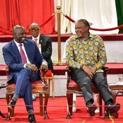 President Uhuru Kenyatta Consolidates Power As Deputy President William Ruto's Base Ebbs