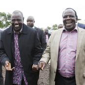 Oparanya Spotted With Ruto Again as Details of Their Late Night Meeting in Eldoret Leak