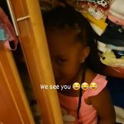See how beautiful Heaven Bahati looks while hiding in the Closet