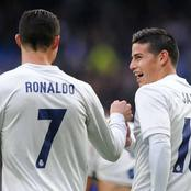 James Rodriguez on Ronaldo: He's the best teammate I have ever had