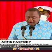 What The Weapons Factory Launched Today Means For The Future Of Kenya.