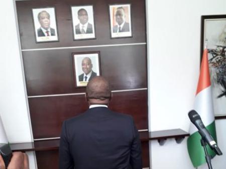Côte d'Ivoire : Hamed Bakayoko a rendu hommage à Amadou Gon Coulibaly ce mardi