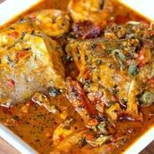 Banga soup recipes for cooking delicious palm extracts delicacy