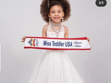 Meet 5-year old Nigerian Girl who won Miss Toddler USA 2021