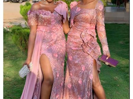 Simple and Classy Lace Asoebi Designs for Next Month's Parties