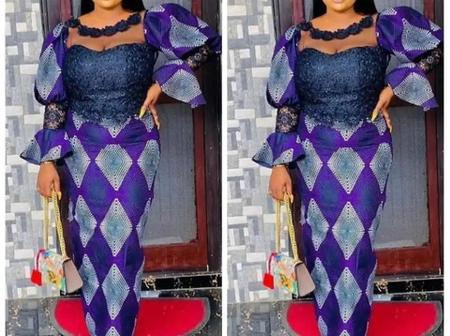 Dear Ladies, Look Elegant On Easter Sunday With These 30+ Exceptional Ankara Gown Styles