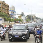 Les images de l'accueil triomphal de Yamoussoukro au ministre Diarrassouba après sa reconduction