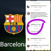 """Barca Is Dead"", A Fan Blasts Club After Their Loss Against Athletic Club"