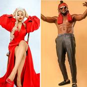 Mercy Eke reacts to Rudeboy's picture