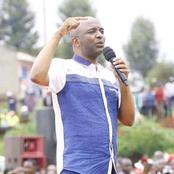 Kang'ata Clears the Air on why he Was Running  During Ruto's Event