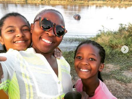 Isibaya actress spoils her children to a holiday, leaving fans gushing over them.