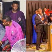 See Photos Of Yemi Osinbajo Praying And Preaching