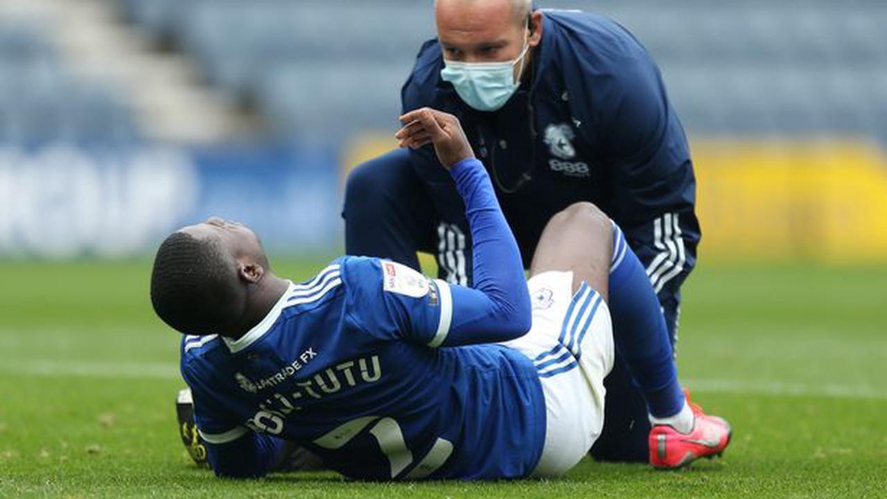 Cardiff City latest injury bulletin on Kieffer Moore, Jordi Osei-Tutu and Lee Tomlin plus what it means for Leandro Bacuna