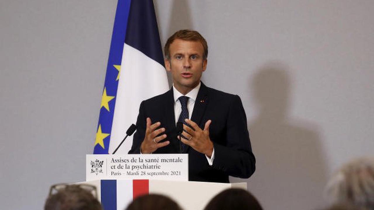 Les consultations chez un psychologue seront remboursées, sur prescription médicale, à hauteur de 30 à 40 euros, à partir de 2022, annonce Emmanuel Macron