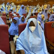 See Some Photos Of The Recently Freed Zamfara School Students