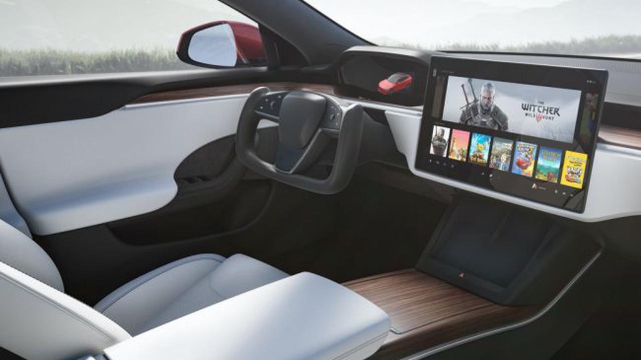La nouvelle Tesla Modèle S peut faire tourner The Witcher 3