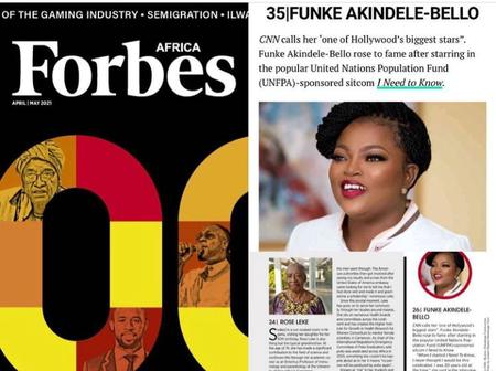 Funke Akindele Jubilates As CNN Calls Her