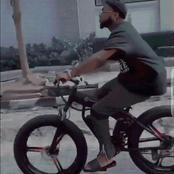 Davido s'offre un vélo de luxe d'une valeur de 2 millions de FCFA
