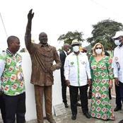Statue d'Amadou Gon Coulibaly à Man: voici les vraies raisons