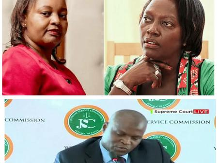 Martha Karua Case Against Anne Waiguru Comes To Haunt A Candidate For The Chief Justice Position