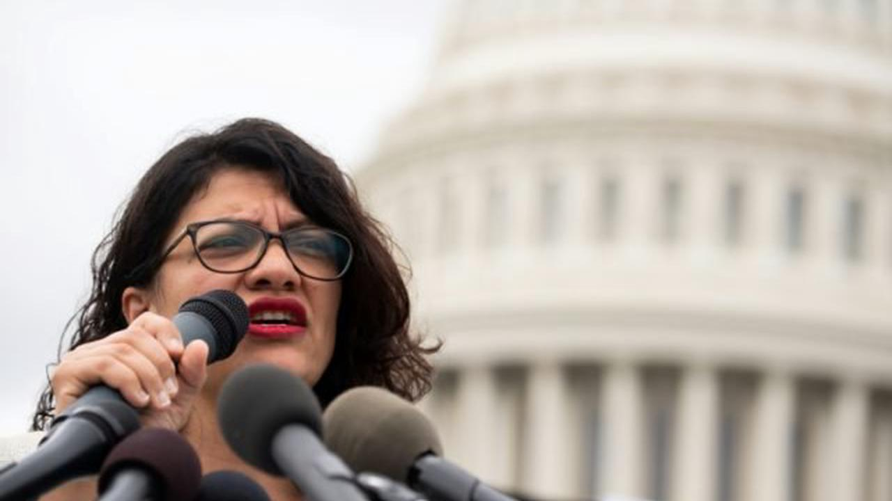 Rashida Tlaib says Democrats tell her they support Palestine in secret because they're scared of 'intimidation'