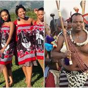 Netizens react as King Mswati III marries the 32nd wife