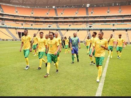 Banter: Robert Marawa is the new Bafana coach