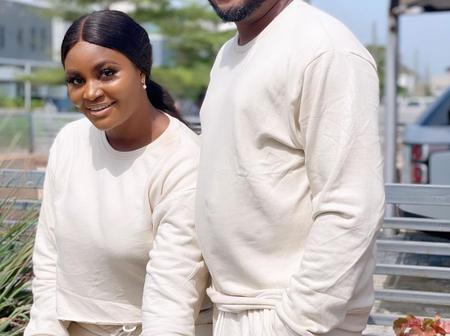27-Years-Old Actress Chizzy Alichi Poses With Her Husband In Recent Pictures
