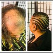 Ladies Check Out How This Hairdresser Styled This Woman's hair