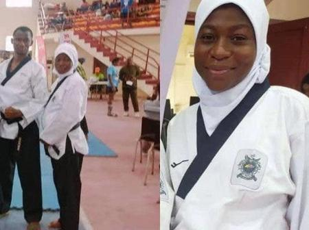 8-Months-Pregnant Woman wins taekwondo competition and Got People Talking
