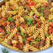 See How To Prepare Very Delicious Mince Beef Tomato Pasta