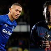 Neymar Jr Surprise Richarlison with Everton's Player of the year Award