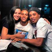 Money Is Good; Check Out Ronaldinho Adorable Family, Fleet Of Cars And Mansion