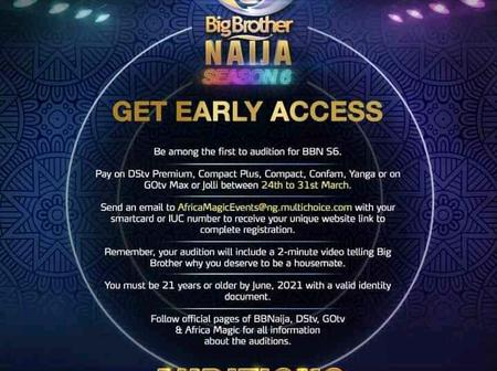 Checkout The New Rules All Prospective Housemates Must Follow In Order to audition for BBN Season 6