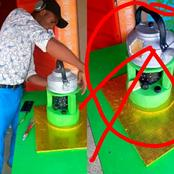 Man Baked Cake In Form Of Stove And Complete Kettle (Photos)
