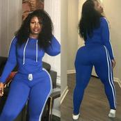 Photos of a Delectable Nurse with massive curves goes viral (photos)