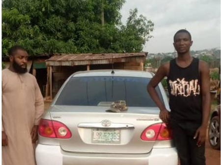 Two men arrested following a cult clash that claims the life of two young men in Awka, Anambra state