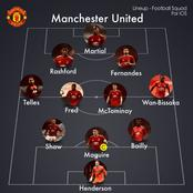 How Manchester United Should Lineup Against Manchester City Today