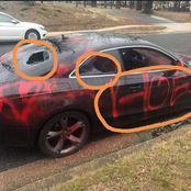 Look what a side chick wrote on her boyfriend's car. Mzansi is left in stitches. Photos|Opinions