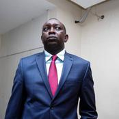 Just in :Kapseret Member Of parliament Oscar Sudi Arrested