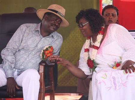 Ida Odinga Has Opened Up On How The Family Got Frightened After Raila Got Sick And Was Admitted