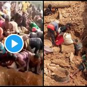 Watch Video: See What Congolese Villagers Discovered In A Mountain That Can Make Them A Millionaire.