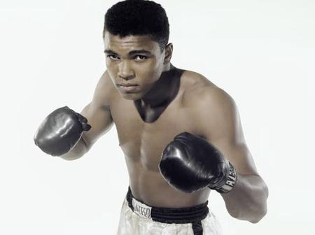 Check out Mohammed Ali's real name before he changed it
