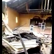 See What Nigeria Military Did To A Church When They Came To Look For ESN In Orlu (Photos)
