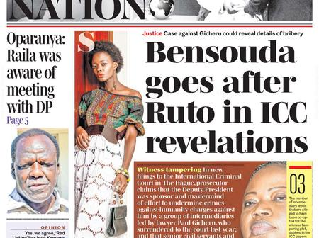 Change Of Tune As DP Ruto Falls In Trouble Over ICC Revelation