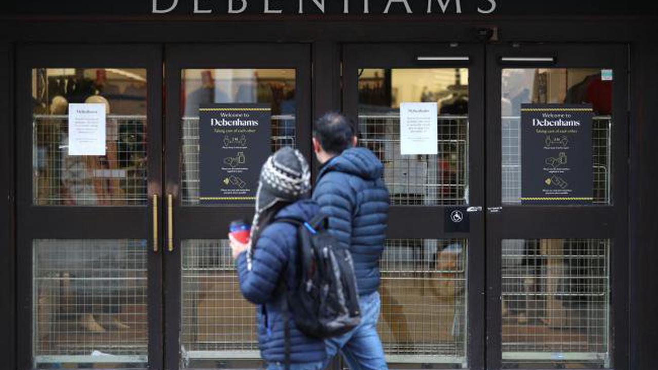 Three Hampshire Debenhams stores will reopen next week for final clearance sale